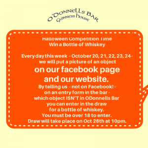 Halloween Competition at ODonnells of Cliffoney
